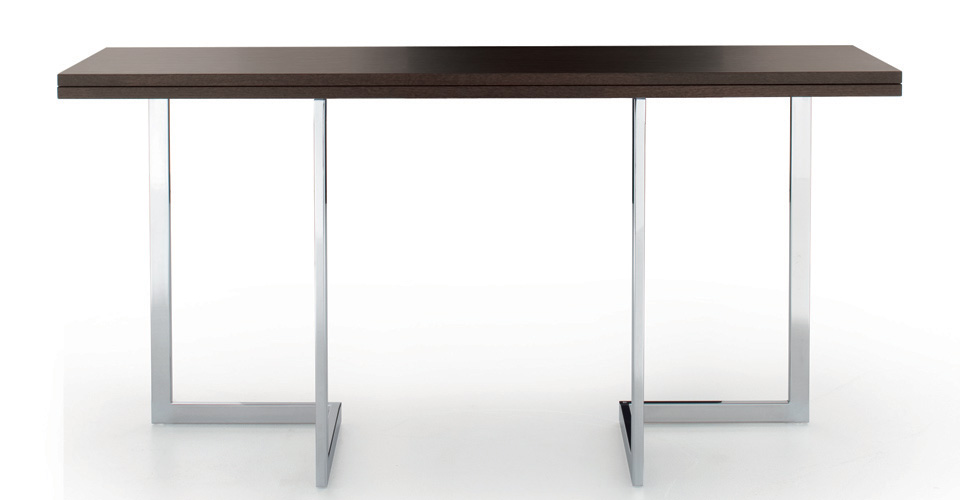 Convertible console table transformable table for Table transformable